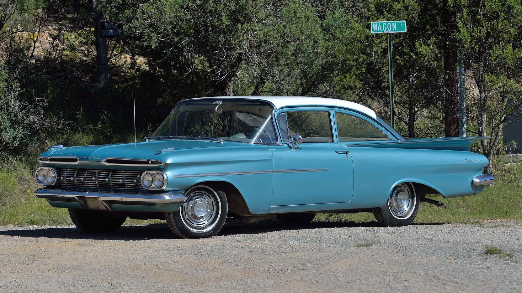 All Chevy 1960 chevrolet biscayne 2 door : 1959 Chevrolet Biscayne 300 HP Police Pursuit For Sale | Cool ...