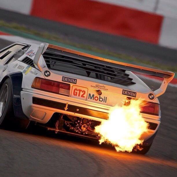 BMW M1 Backfire #german