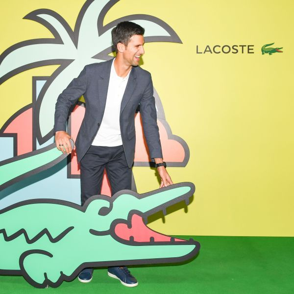 Novak Djokovic In Beverly Hills At A Lacoste Event Beverly Novak Djokovic Beverly Hills