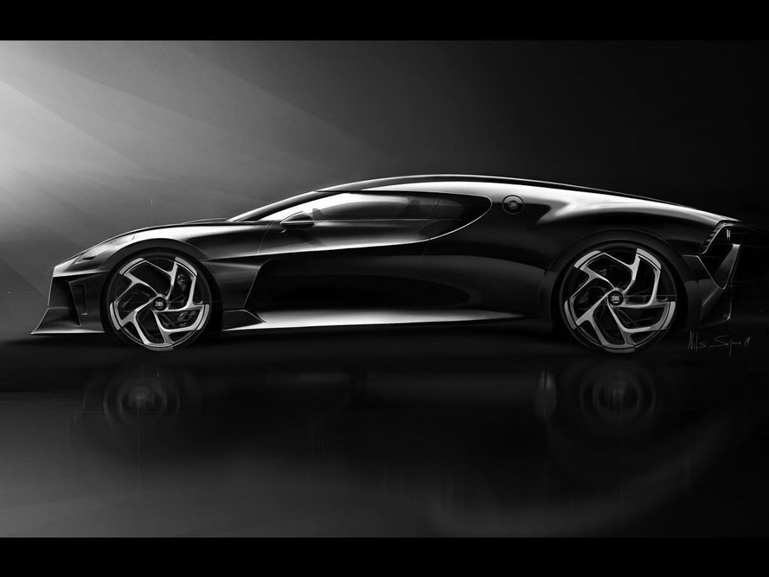 2019 Bugatti La Voiture Noire Sketches By Etienne Gallery: Pin On A Sketchbook