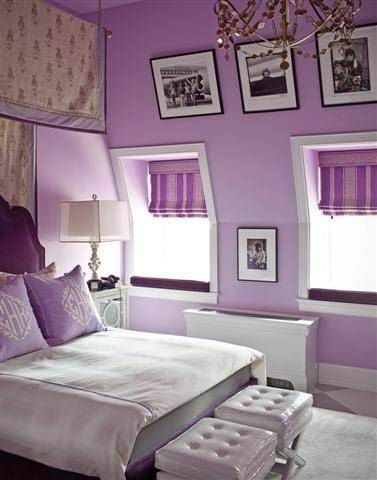 Lilac And Purple Bedroom
