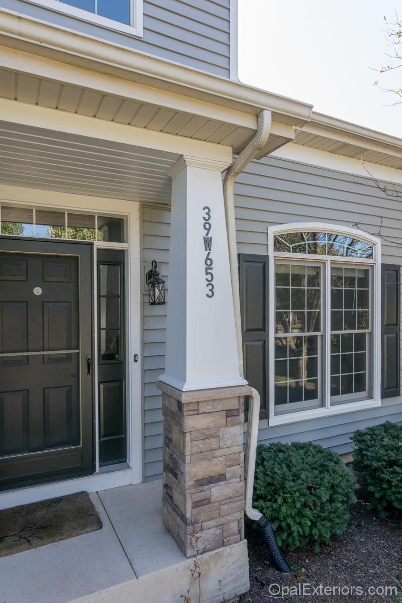 Exterior home renovation by Opal Enterprises with Mastic