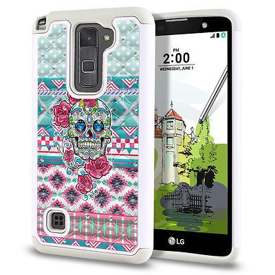 buy online 65f20 a5a39 Details about For LG Stylus 2 Plus Stylo 2 Plus K550 Design Hybrid ...