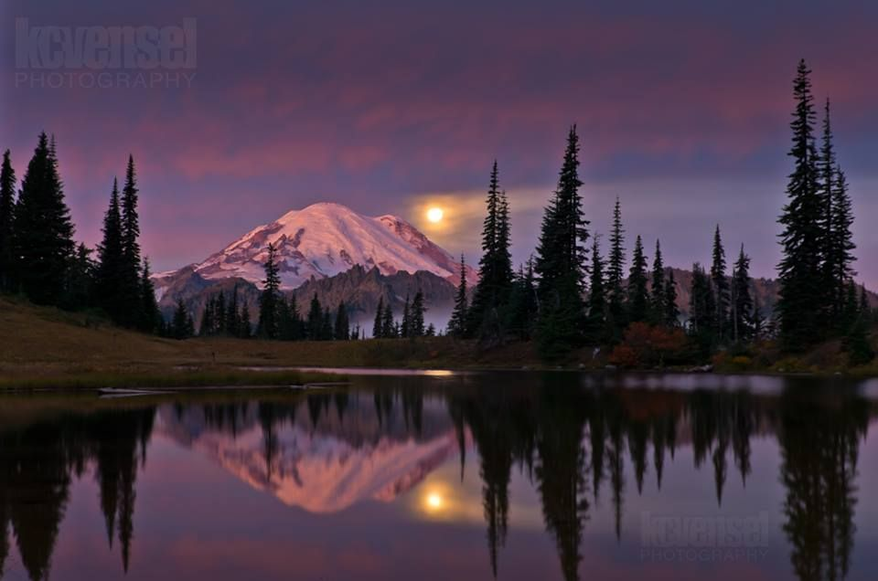 Tipsoo Lake sunrise