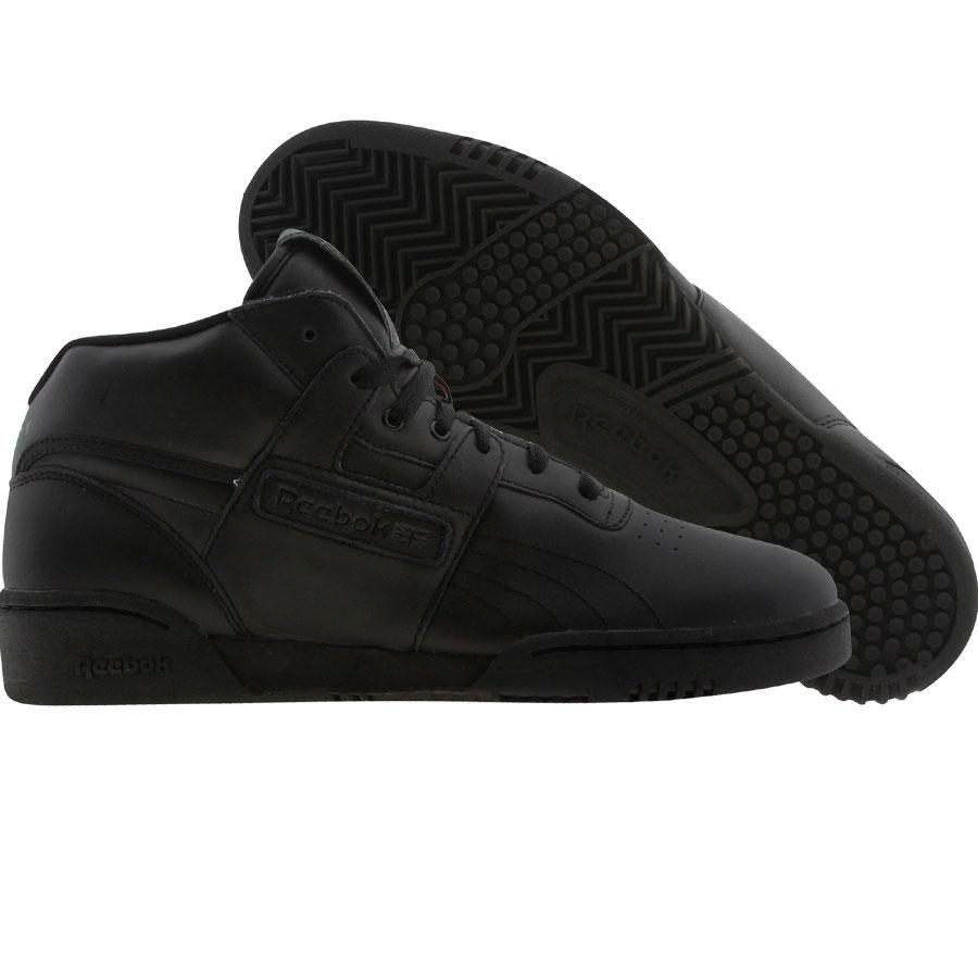 Reebok Workout Mid shoes in black. Reebok Workout Mids aka Soulja Reebok s  R.I.P. James Soulja Slim Tapp Jr. 5be731205