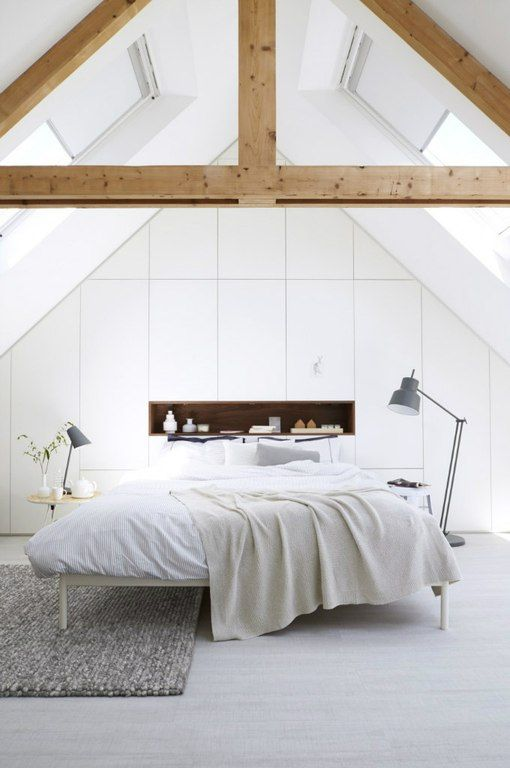 Pin By Don Cheng On Modern Bedroom Attic Bedrooms Minimalist Bedroom Bedroom Design