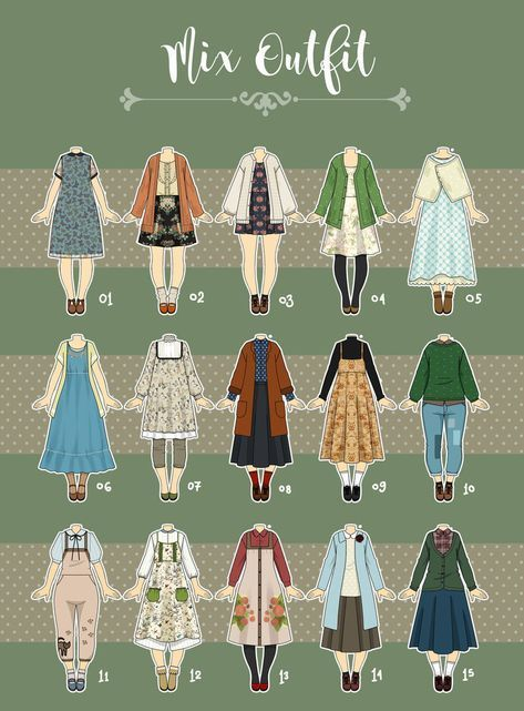(CLOSED) Casual Outfit Adopts 09 by Rosariy on DeviantArt