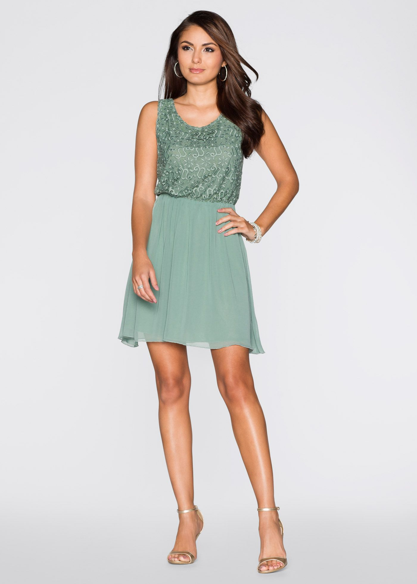 Kleid mint - BODYFLIRT jetzt im Online Shop von bonprix.de ...