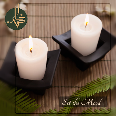 The flicker of a flame makes a room feel more like a natural living space. Use our candles to transform your living space into a warm and inviting area!
