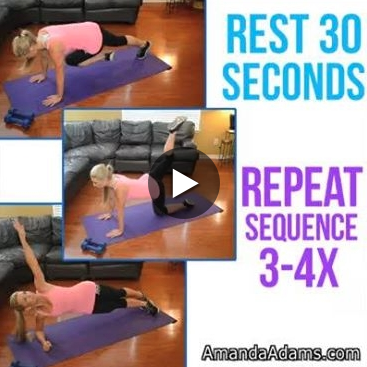 here's a quick athome abs and glutes workout you can do