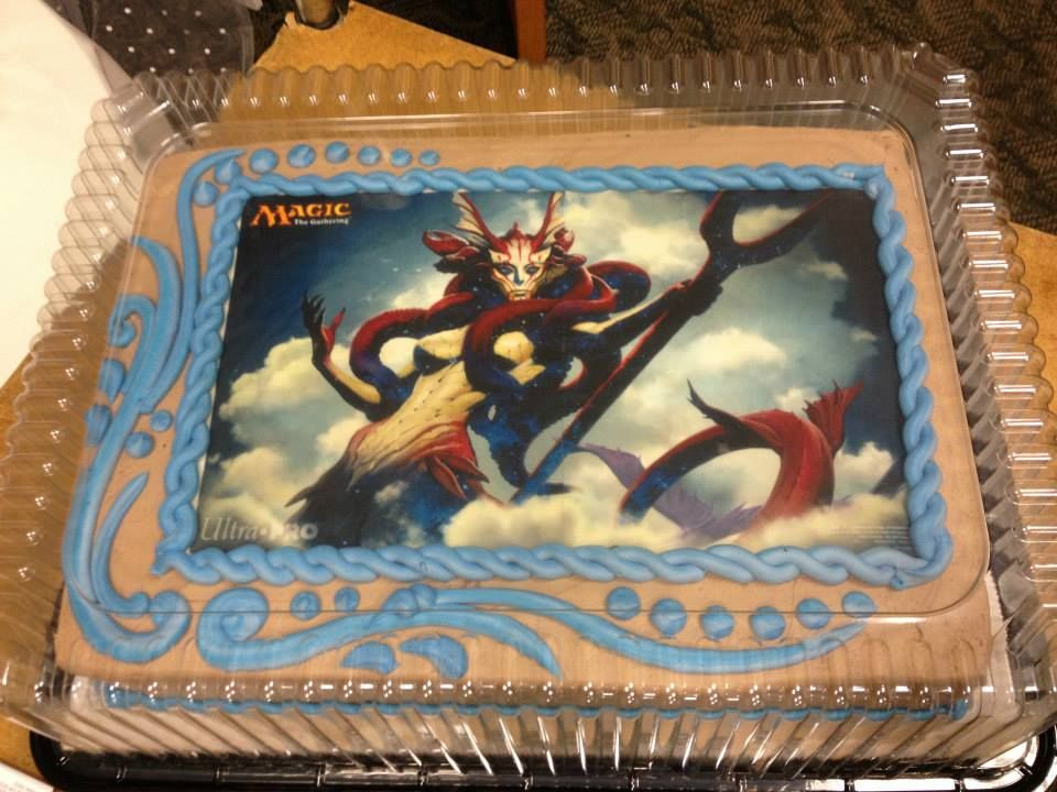 Magic The Gathering Cake Ok End All Be All Best Cake Ever For The