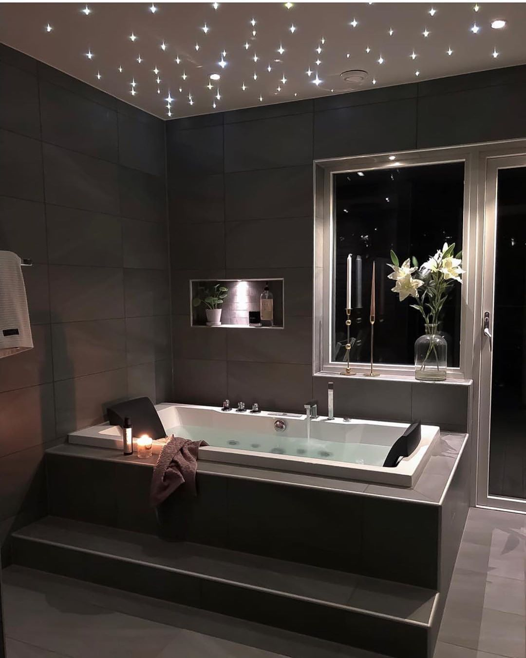 Photo of Gorgeous bathroom By • • Don't miss all the FAB inspiration shared at TURN ON… – My Blog – My Blog