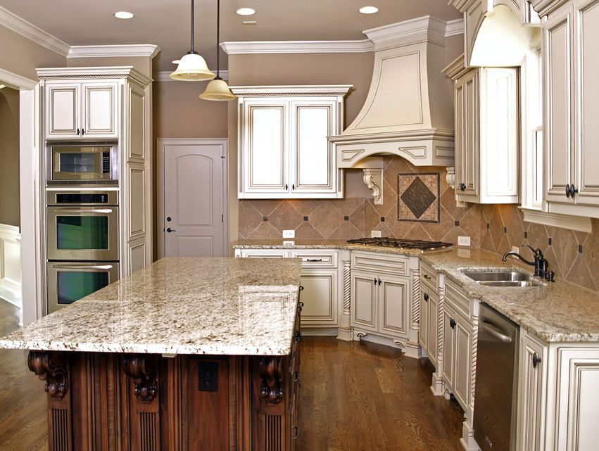 79 Custom Kitchen Island Ideas Beautiful Designs  Light Granite Endearing Kitchen Counter Top Designs Design Decorating Design