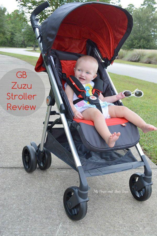The GB Zuzu Stroller Fold & Lightweight