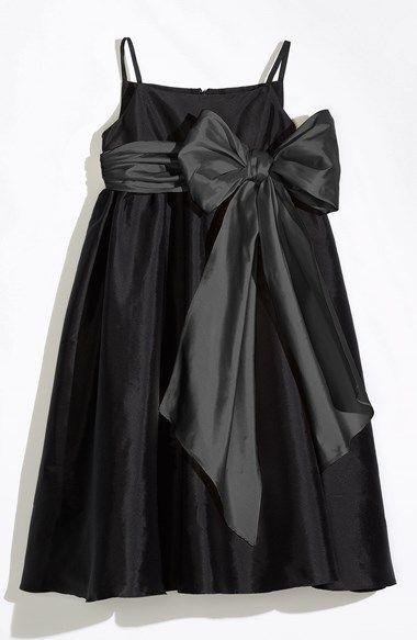 8993c2031 Us Angels Sleeveless Empire Waist Taffeta Dress (Toddler, Little Girls & Big  Girls) | Nordstrom