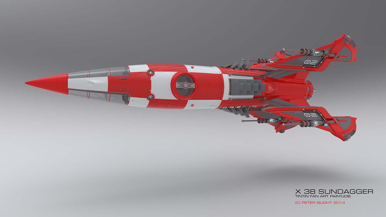 Concept Art Rocketships
