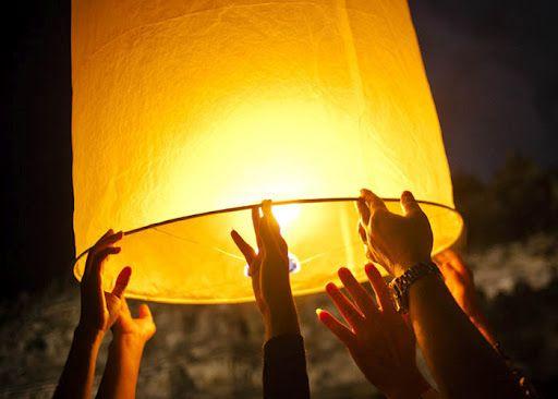 Dat onze wensen gedragen mogen worden door de wind en werkelijkheid worden.