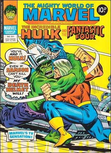 The Mighty World of Marvel #311