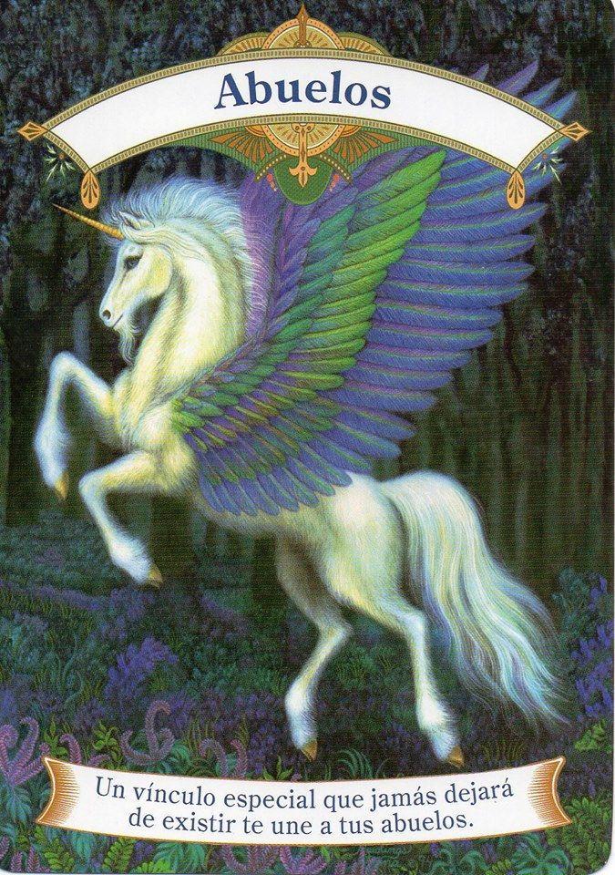 Pin De Cosmica Sublimados En Cartas Unicornio En 2020 Tarot De
