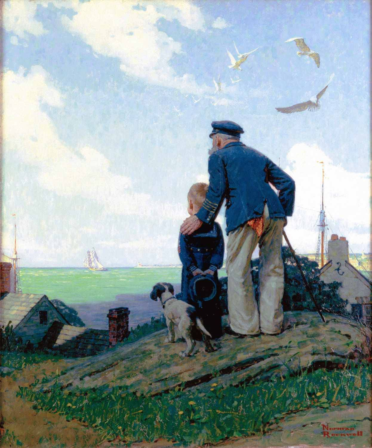 American Chronicles The Art Of Norman Rockwell Norman Rockwell