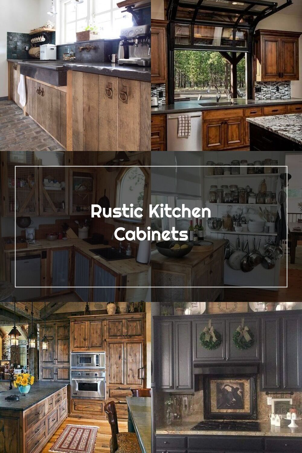 Rustic Kitchen Cabinets Lowes Rustickitchencabinet Rustic Kitchen Rustic Cabinets Wood Kitchen Cabinets