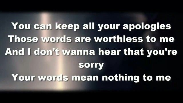 Worthless - Bullet For My Valentine