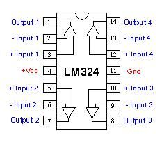 lm324 pin description features working of lm324 electronics rh pinterest ie lm324 pin configuration lm324 pin configuration