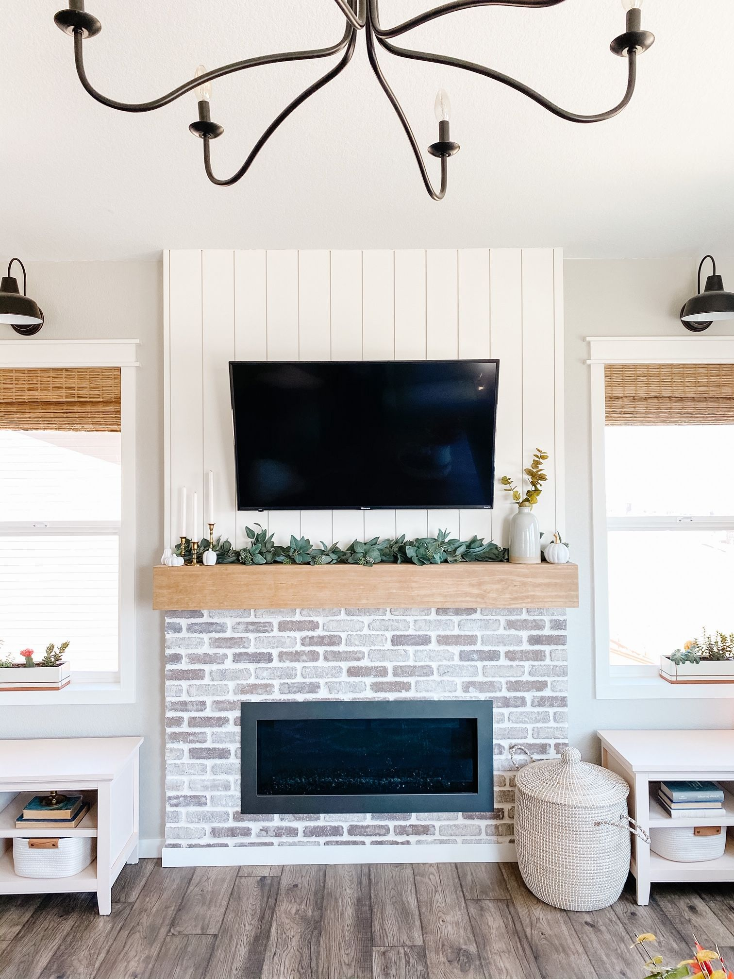 Easy DIY Fireplace Makeover Budget Friendly in 2020