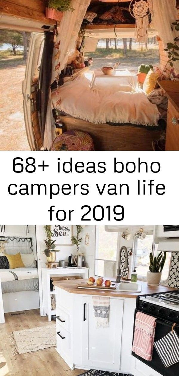 68+ Ideas boho campers van life for 2019 Droom op wielen - Caravanity | happy campers lifestyle