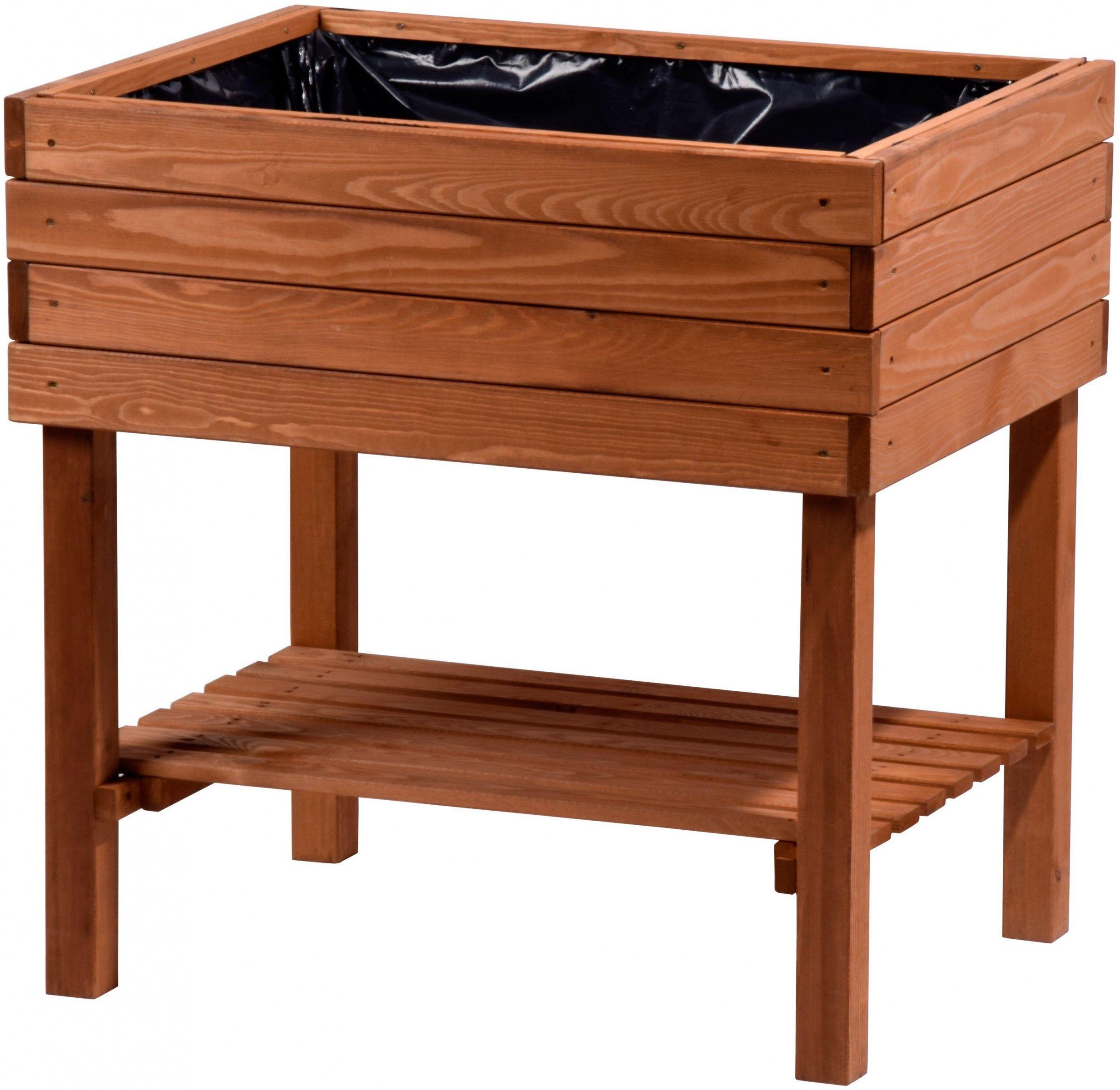 Dobar Hochbeet Inkl Pflanzfolie Braun Braun Dobar Hochbeet Inkl Pflanzfolie In 2020 Raised Beds Garden Boxes Diy Garden Beds