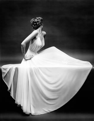 Draping - stunning photography by Mark Shaw for ad campaign in Vanity Fair.
