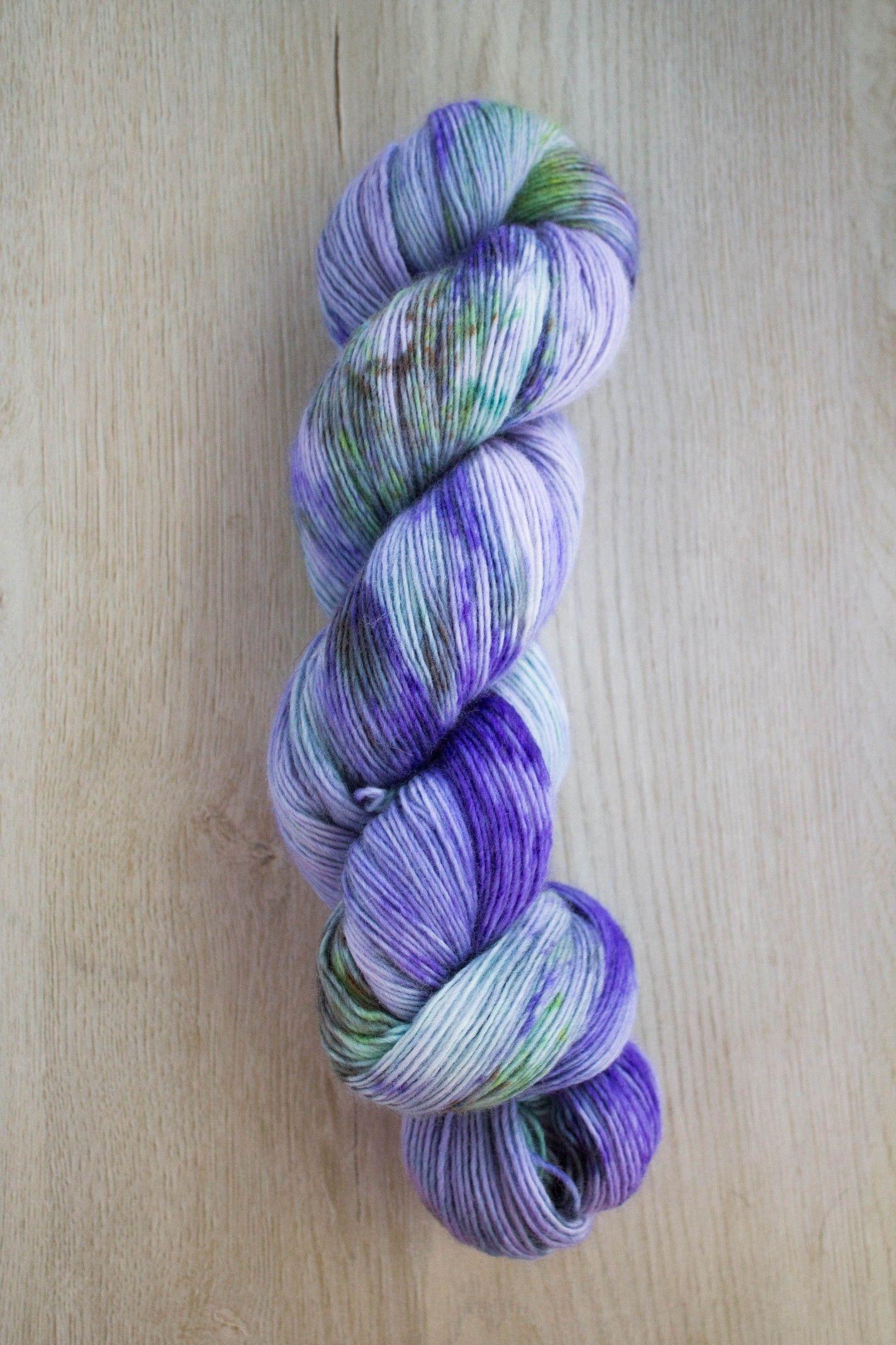 Hand Dyed Yarn 4ply Merino Nylon Petit Fours