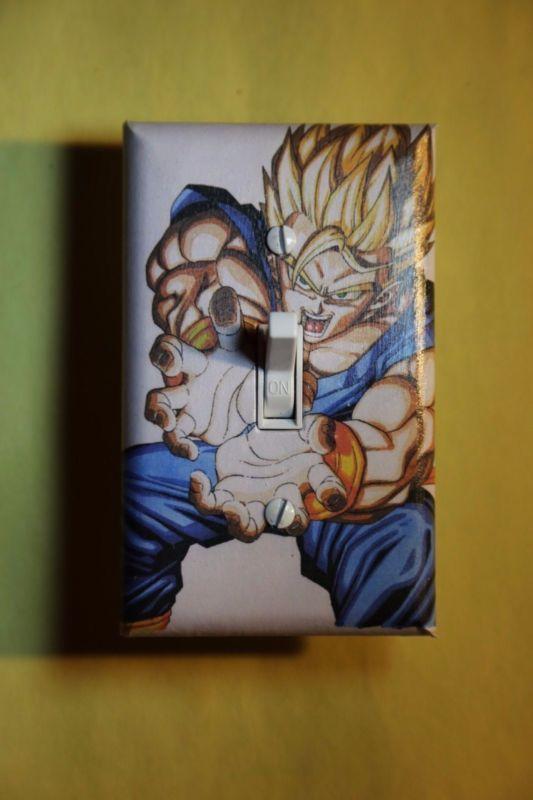 Dragon Ball Z Light Switch Plate Cover gamer room home ...