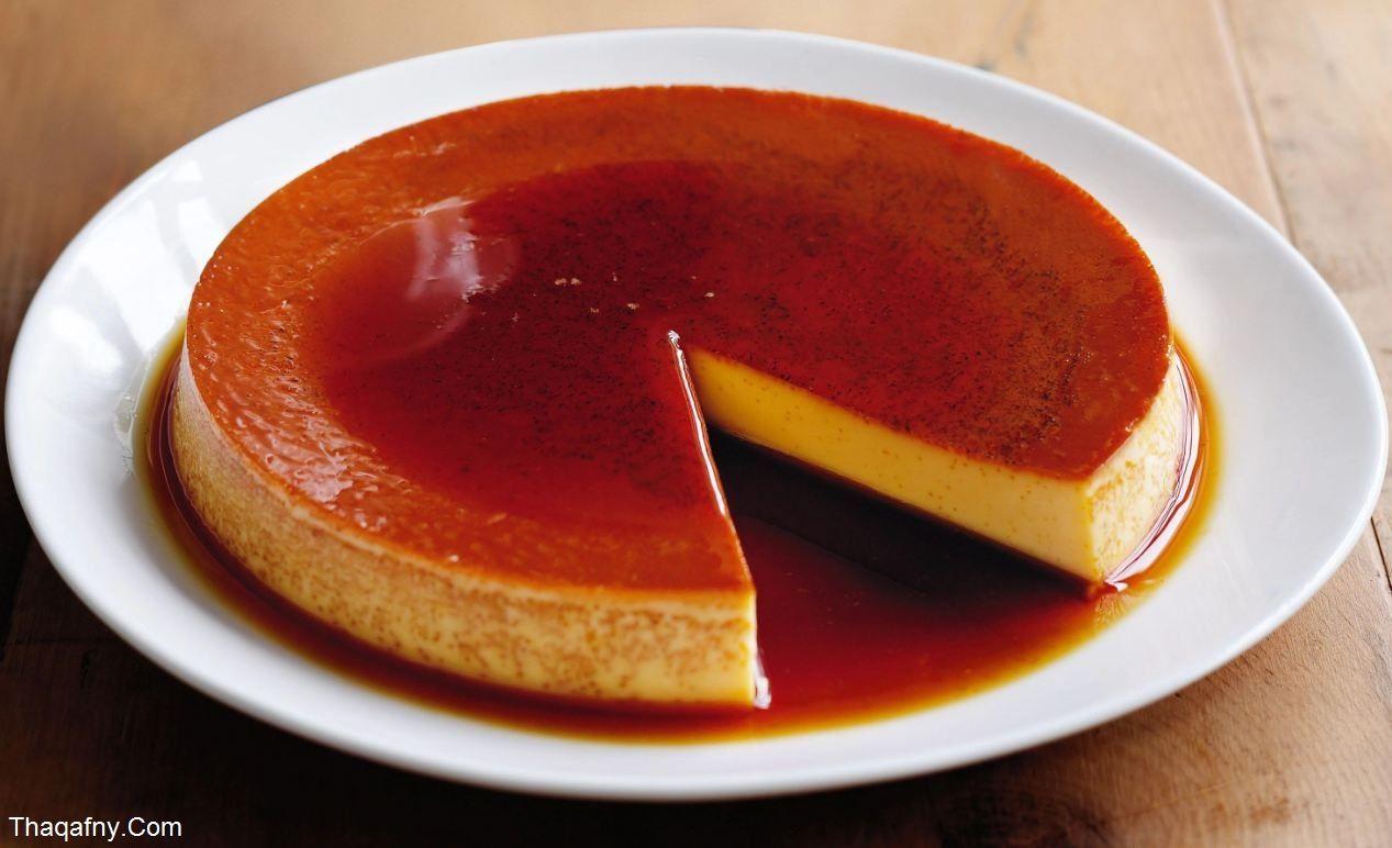 طريقة عمل الكريم كراميل Chilled Desserts Caramel Recipes Desserts