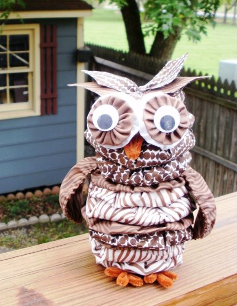 Birthday Owl for Granddaughter and Mother's Day Owl Birthday Owl for