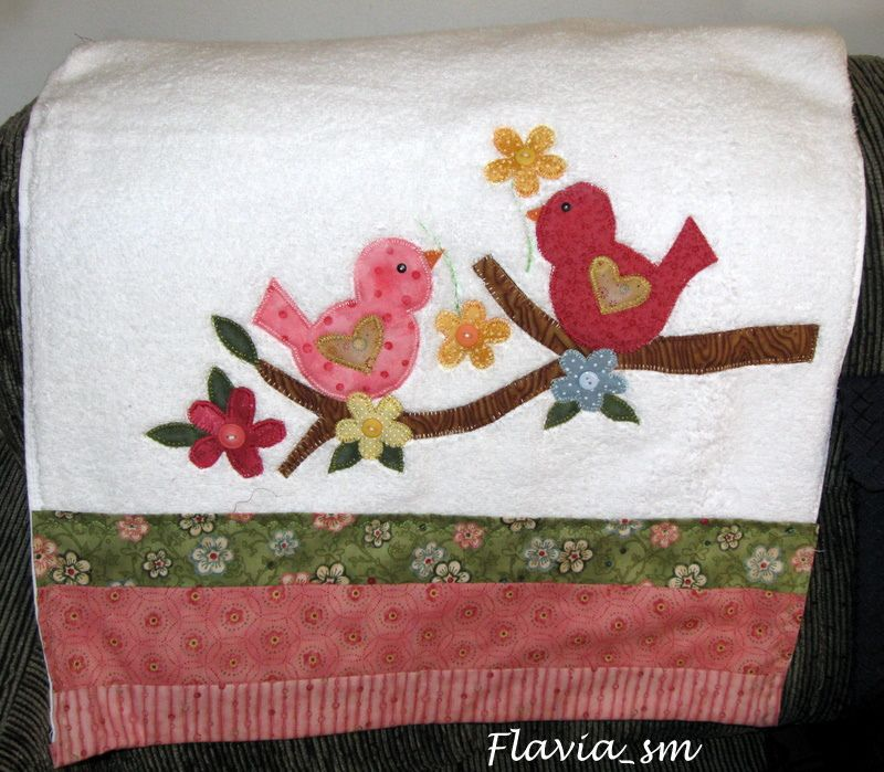 Toalha de rosto toallas apliques y juegos de ba o for Apliques para toallas