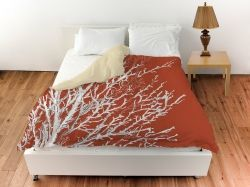 Rust Colored Comforters And Bedding Sets Coral Duvet Coral