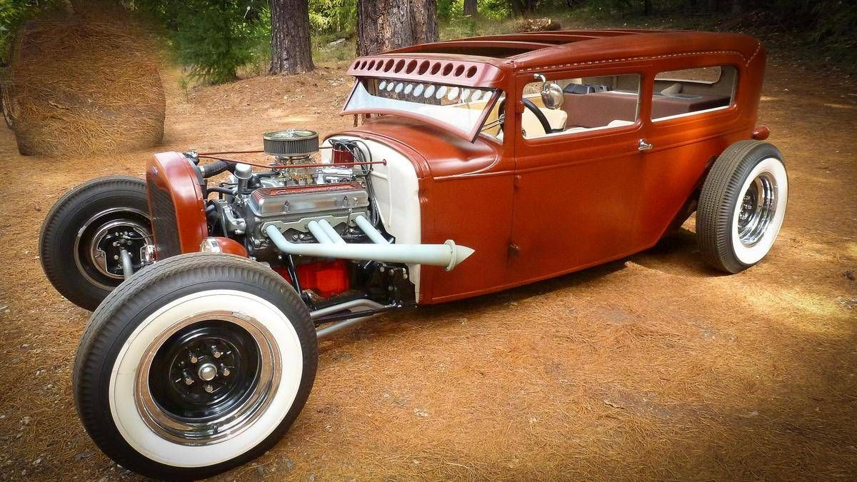 1931 Ford Model A VINTAGE OLD SCHOOL HOT ROD | Street Rods ...