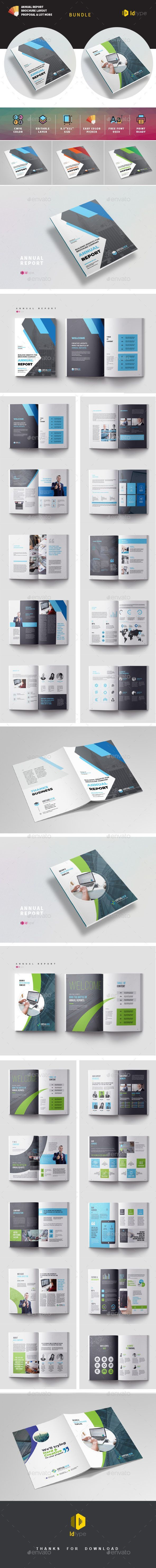 #Annual Report #Template #Bundle - Magazines Print Templates #annualreports #Annual Report #Template #Bundle - Magazines Print Templates #annualreports