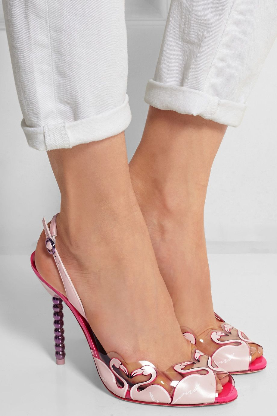 Sophia Webster PVC Ankle Strap Sandals clearance best buy cheap buy high quality for sale xXXaOM