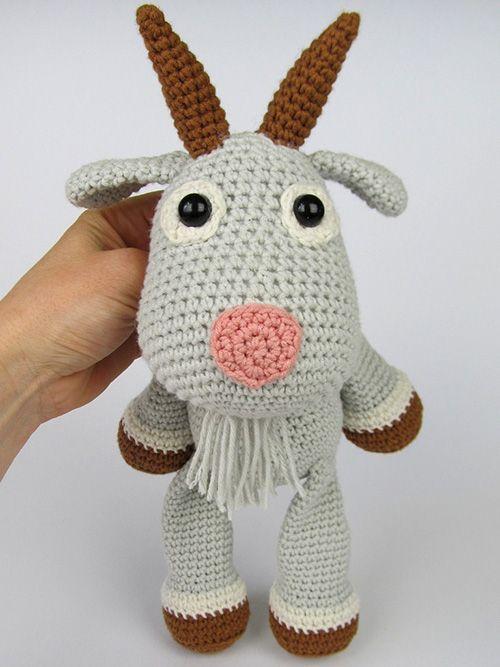Goat Lisa amigurumi pattern by DioneDesign | kostenlose Muster ...
