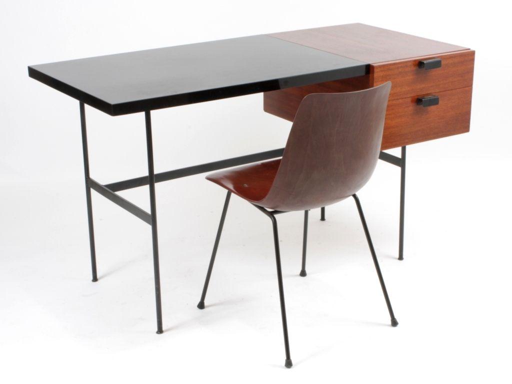 Pierre Paulin Bureau Cm141 8 Chaise Modele Cm131 Ed Thonet 1954