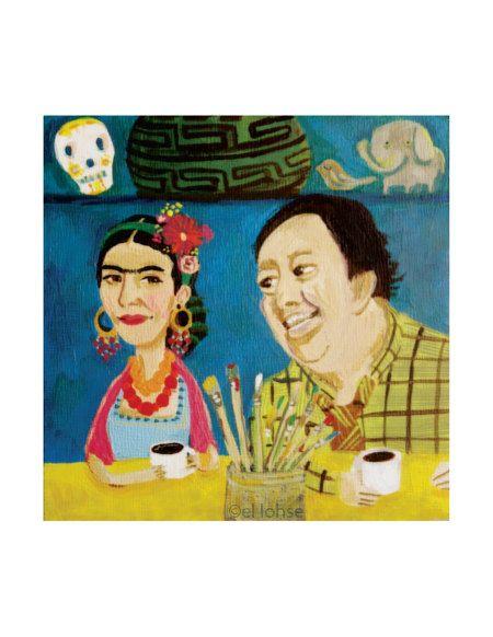 Frida & Diego by Elloh on etsy