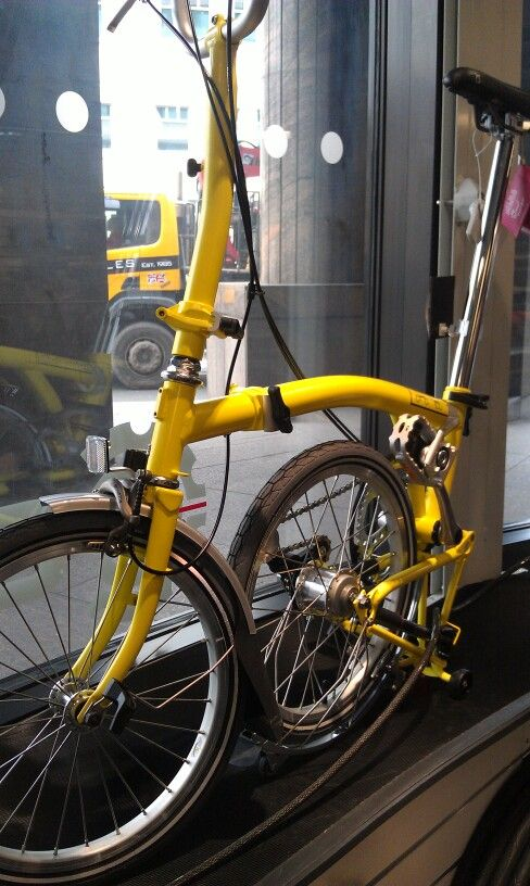 Hey Brompton Why Did You Stop Offering Yellow Brompton