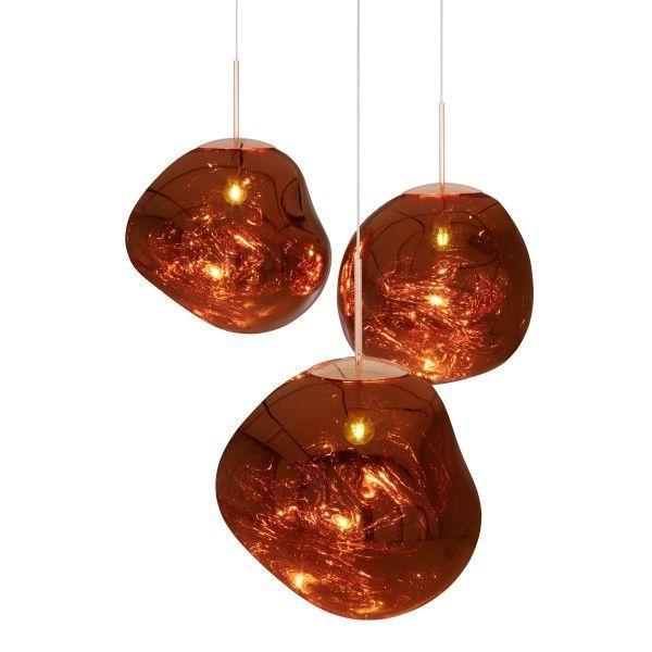 Melt Hanglamp Koper | Tom Dixon