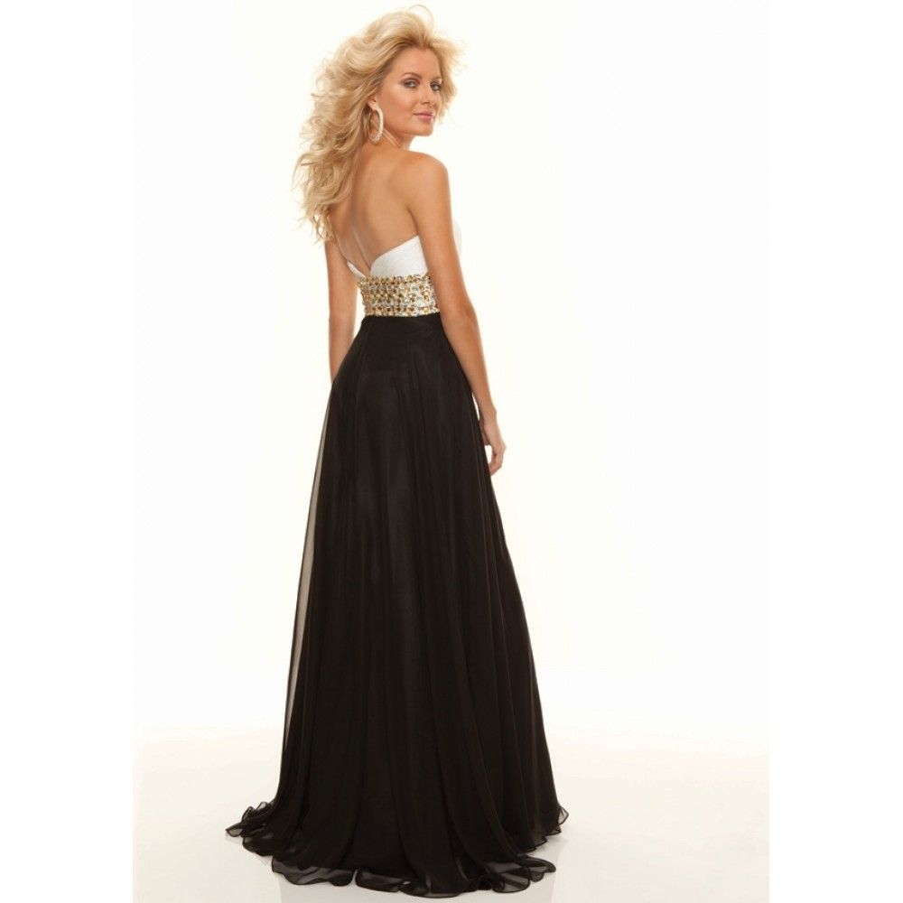 Exclusive Black and White Formal Dresses : Breathtaking Black And ...