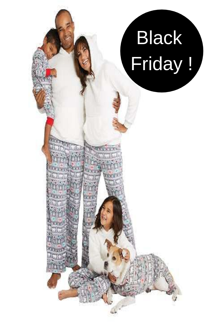 6bff40801a Holiday Fuzzy Bear Fair Isle Family Pajamas Collection. The collection  includes
