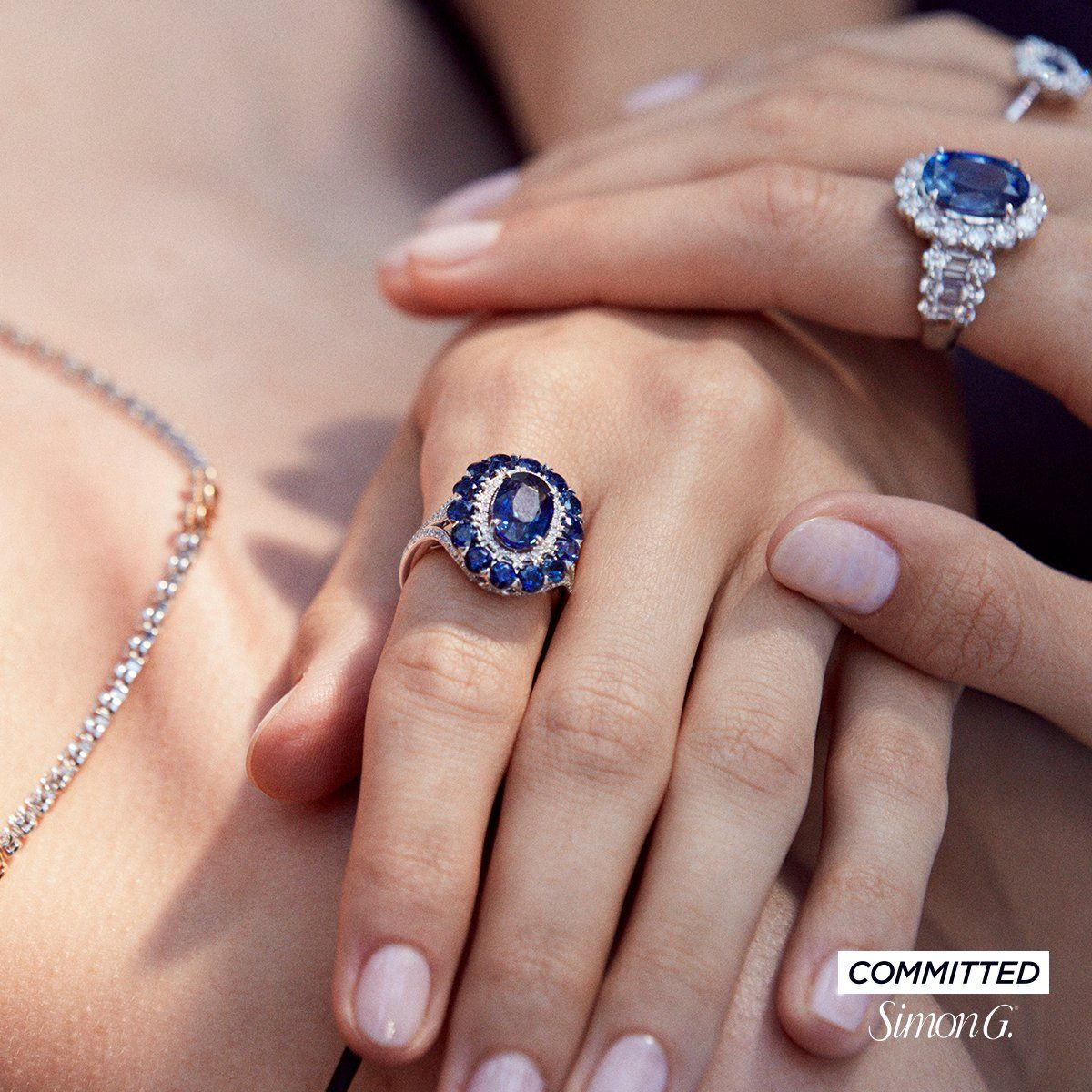 Sapphires and Simon G. Jewelry a winning combination