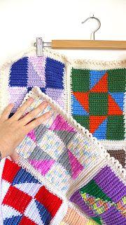 hookloops: arte da parede toalha de mesa / tapete tapeçaria Crochet