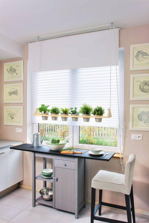 Zdja Cie Nr 1 W Galerii Zrălb To Sam Wisza Cy Kwietnik Herb Garden In Kitchen Backyard Kitchen Kitchen Herbs